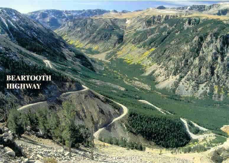 Wyoming Montana Idaho Road Trip